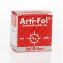 Pauzovací papír Arti-Fol 8u, oboustranný, červený doplněk BK1025
