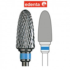 Hrubovací fréza Edenta s modrým pruhem