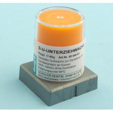 Oranžový krční vosk 45g Schuler Dental