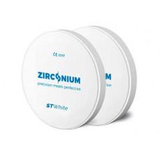 Zirkonium ST bílá 98x12mm