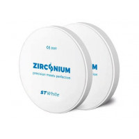 Zirkonium ST bílá 98x18mm