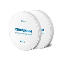 Zirkonium TT vícevrstvé 98x14 mm