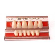 Přední zuby MIFAM Super Lux 6 ks - volejte a zeptejte se na dostupnost barvy a tvaru.