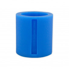 Silikonový prsten č. 3 modrý