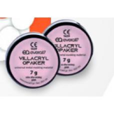 Villacryl Opaquer růžová 2x7g + 12ml + leptadlo