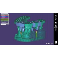 Modul Exocad Model Creator (modely pro 3D tisk)