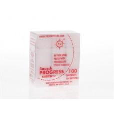 Obdélníkový pauzovací papír, červený 100u (300ks / kazeta) BK52