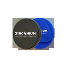 Frézovací vosk zirkonium šedý 98x12mm