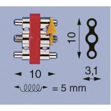 Levý šroub 3-bar A-10 krátký