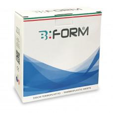 B-Form tvrdé dlahové fólie 125x125mm 1,5mm (25ks)