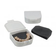 Přepravní box s houbičkou, velký 4,5x5,8x2cm
