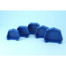 Formy pro základny sádrových modelů G2,2 / 5 ks.