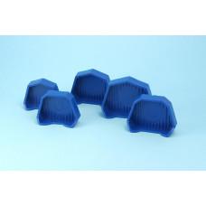 Formy pro základnu sádrových modelů G2,3 / 5 ks.