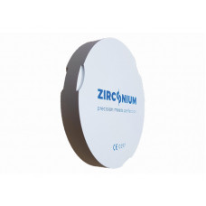 Zirkonium ZZ ST vícevrstvé 95x18mm