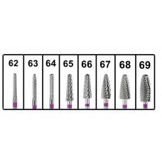 Fréza s purpurovým pruhem pro broušení Cr-Co a Cr-Ni