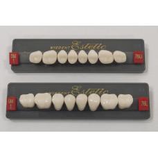 Boční zuby Wiedent Estetic vybělily OM1, OM3