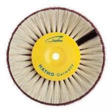 Hatho - kartáč 80 mm bílé tvrdé štětiny + rouno