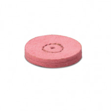 Kamzíková kůže s pemzou 22 mm růžová (2. krok) - EVE