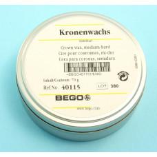 Střední korunkový vosk 70g Bego
