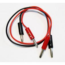 Kabely pro elektrolytické leštění, sada 2 ks