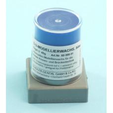 Modrý modelovací vosk 45g Schuler Dental
