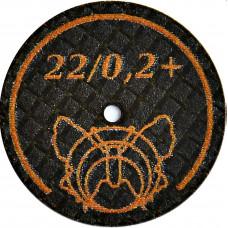 Ultra jemný brusný kotouč Butterfly 22 / 0,2 + BF