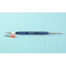 Modrý porcelánový modelovací nástroj