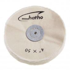 Hatho - bavlněný štít 4x50 (100 mm) mušelín