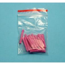 Špendlíky pro stojan na keramiku růžové 10 ks