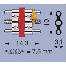 3barový šroub C-14 Left Dental