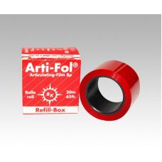 Pauzovací papír Arti-Fol 8u, jednostranný, červený doplněk BK1021