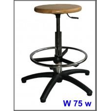 Vysoká laboratorní stolička W-75w