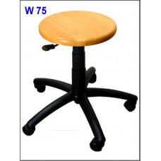 Nízká laboratorní stolice W-75n