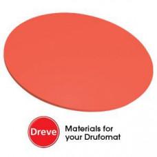 Dreve Drufosoft barva 120 mm 3 mm neonově červená (neonově červená)