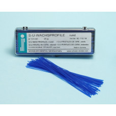 SU 1,0 mm kulaté voskové profily