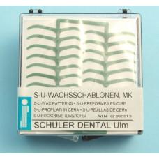 Šablony zubního vosku MK Schuler