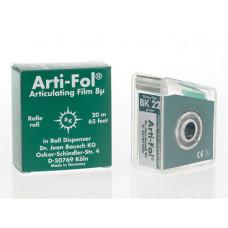 Pauzovací papír Arti-Fol 8u jednostranný zelený BK22