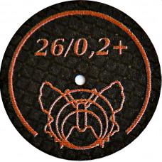 Ultratenký brusný kotouč vyztužený motýlkem 26/02 + BF