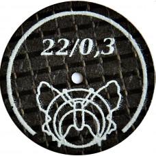 Ultratenký brusný kotouč vyztužený motýlkem 22 / 0,3