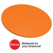 Dreve Drufosoft barva 120 mm 3 mm oranžová (oranžová)